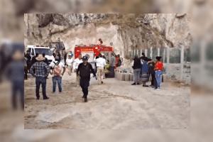 Murió sepultado tras derrumbe de un banco de arena en San Cristóbal