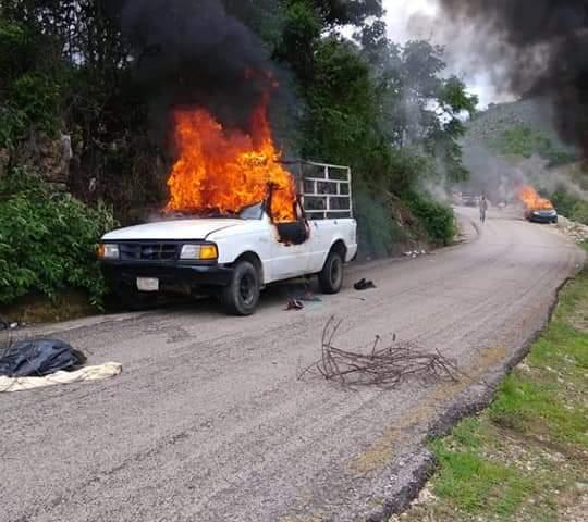 Investigan balacera en carretera de cuota de Tuxtla-San Cristóbal