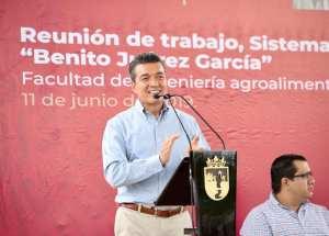 """Universidad """"Benito Juárez García"""" es una realidad en Chilón: Rutilio Escandón"""