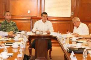 Gobernador y comisionado del INM analizan estrategias para atender tema migratorio