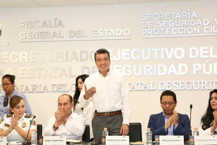Trabajo sin tregua y con cero tolerancia contra la delincuencia: Rutilio Escandón