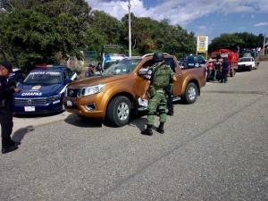 Coordina Fiscalía Bases de Operaciones Mixtas en Ocosingo y Chiapa de Corzo