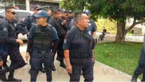 Policías denuncian abusos por parte del alcalde de Chiapa de Corzo