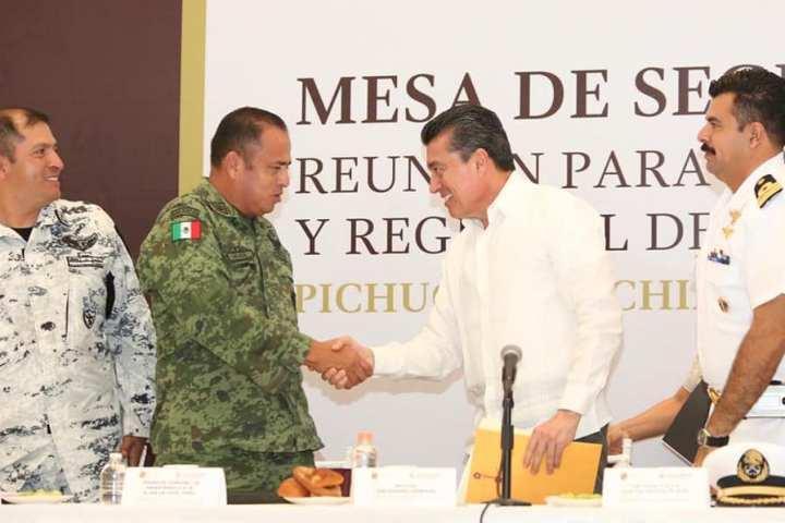 Encabeza Rutilio Escandón Mesa para la Coordinación Estatal y Regional de la Paz en Pichucalco