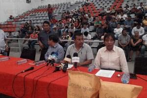 Confirma SE que existe denuncia penal contra Pedro Gómez Bámaca