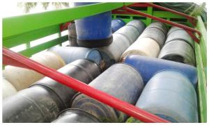 Detienen a guatemaltecos con 13 mil litros de gasolina