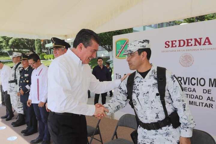 Servicio Militar Nacional fortalece los valores y el amor a la patria: Rutilio Escandón