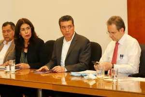 Reitera Rutilio Escandón disposición para lograr acuerdos con el magisterio y privilegiar la justicia