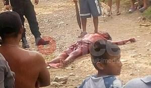 Casi linchan a machetazos a tres presuntos ladrones en Las Granjas
