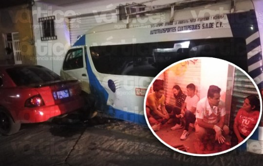 Colectivazo en Tuxtla deja a 7 personas heridas