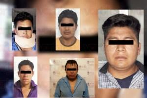 Detienen a cinco por delitos de motín en Simojovel