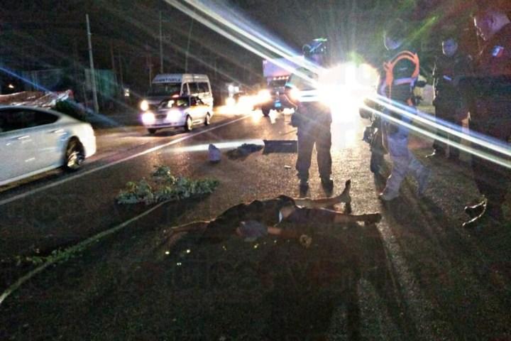 """¡Vía de muerte! Carretera de Chiapa """"toma"""" una vida más"""