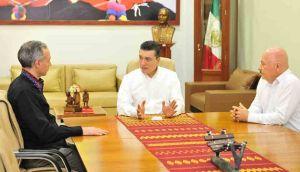 Rutilio Escandón y Hugo López-Gatell consolidan esfuerzos a favor de la salud