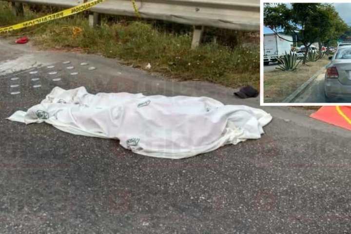 Camionero mata a banderero que resguardaba la vialidad