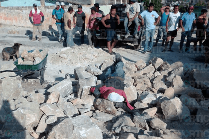 Ejecutan de 4 disparos a obrero en Tuxtla a plena luz del día