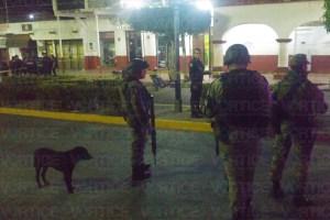 Balacera frente al Parque Central de Chiapa de Corzo deja 2 heridos
