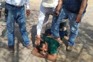 Casi linchan a presunto delincuente en Tuxtla