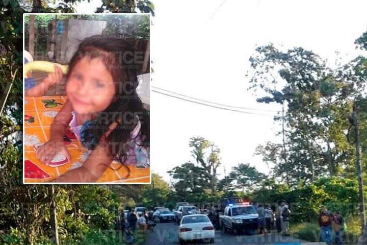 Localizan cadáver de niña de 6 años de edad en Cacahoatán