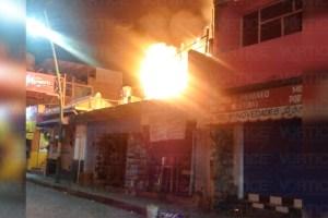 Se incendia vivienda en el barrio de San Roque