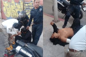 Balean a elemento de la Policía Fuerza Ciudadana en persecución