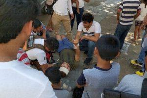 Lo asaltaron frente al Ayuntamiento de Tuxtla y le llevaron hasta los tenis