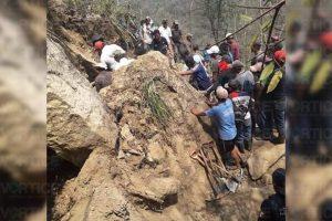 Minero muere sepultado tras derrumbe en Simojovel