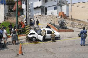 [VIDEO] Muere trabajador de Lala al chocar contra un poste