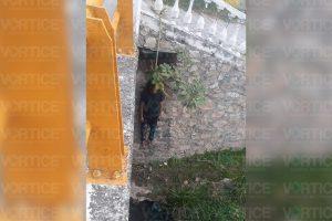 Se ahorca joven en un puente del río Sabinal en Tuxtla