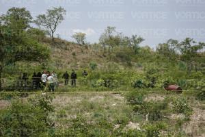 Hallan restos óseos dentro de un tambo en Chiapa de Corzo