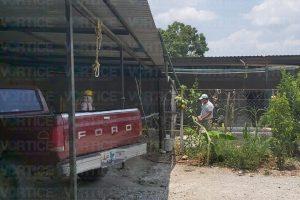 Muere joven cuando trabajaba al fondo de un pozo en San José Terán