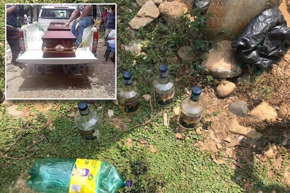 Mueren 3 pijijiapanecos por posible alcohol adulterado
