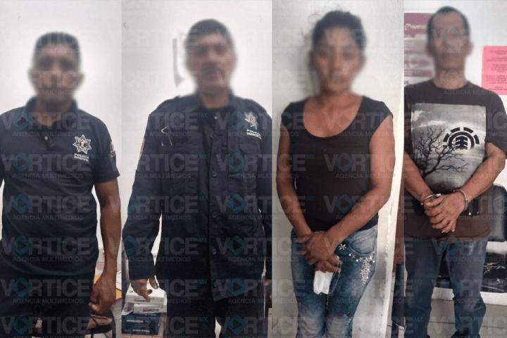 Caen policías de Tuxtla por robo; usaban una patrulla para delinquir