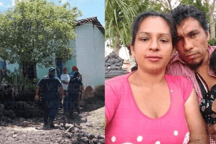 Hallan a mujer asesinada a puñaladas y a su esposo ahorcado