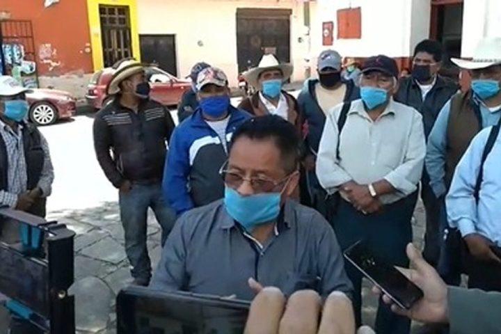 Almetrach se deslinda de detonaciones y culpa a otro grupo