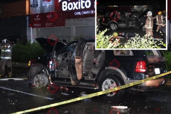 ¡Noche trágica! Carretera a Chiapa cobra dos vidas