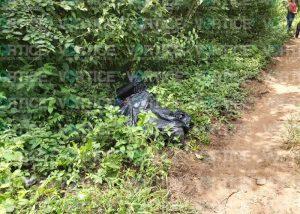 ¡Embolsado! Hallan cadáver maniatado y con señas de tortura en Coita