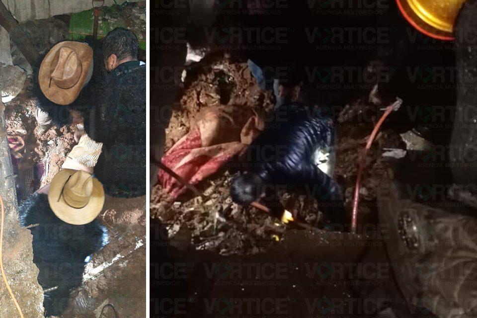 Deslave mata a dos mujeres y dos niños en San Juan Chamula