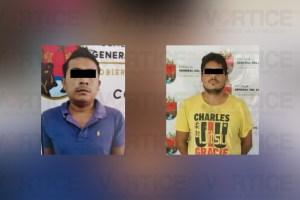 Detiene FGE a dos implicados en homicidio con orden de aprehensión en Oaxaca