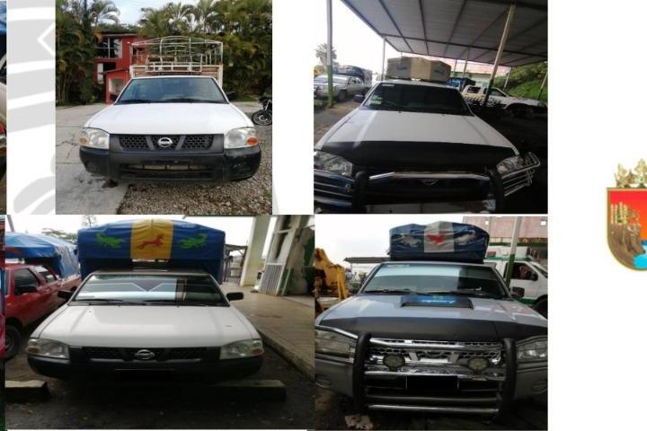 Recupera FGE seis vehículos con reporte de robo
