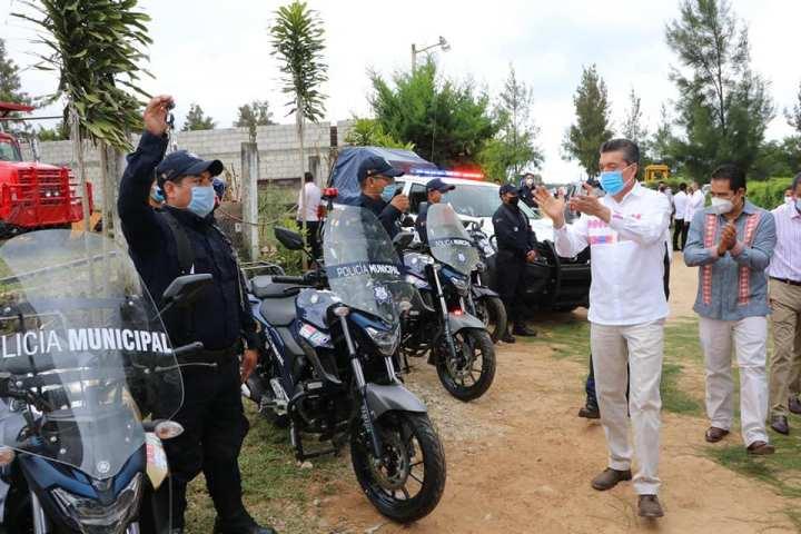Refuerza Rutilio Escandón acciones de seguridad en Las Rosas, Tzimol y Socoltenango