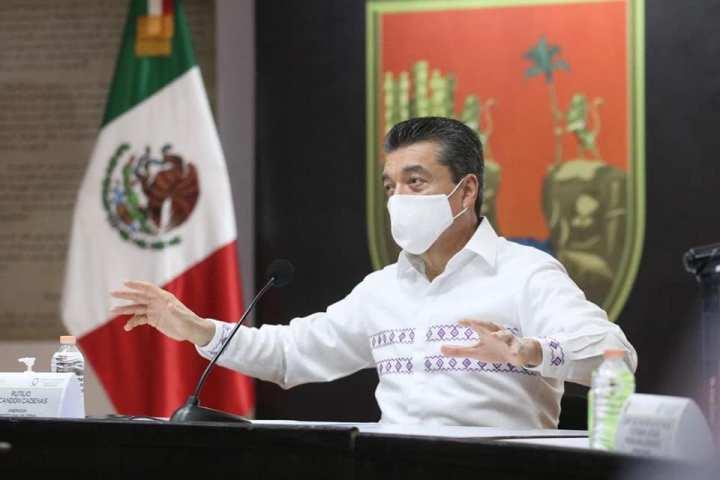 Ayuda humanitaria está llegando hasta los rincones más apartados de Chiapas: Rutilio Escandón