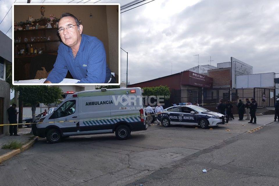 Asesinan de 11 balazos al empresario Alfredo d'Argence