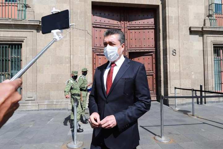 Rutilio Escandón agradece a AMLO por permanecer atento a las necesidades urgentes de Chiapas