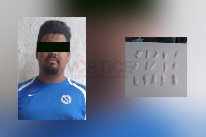 Detiene SSyPC a implicado en delito contra la salud en Cintalapa