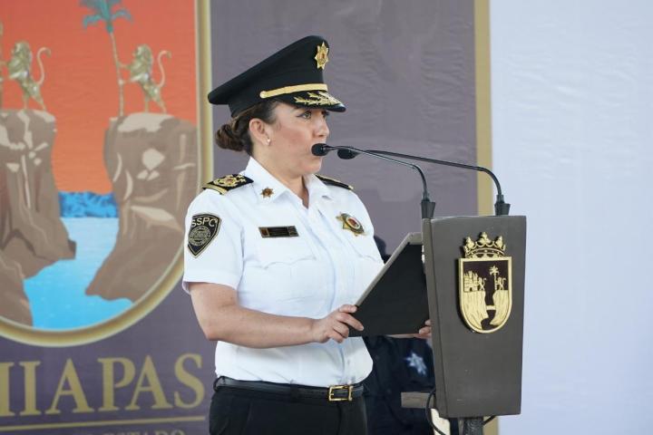 La fortaleza y grandeza de la SSyPC está sus policías: Zepeda Soto