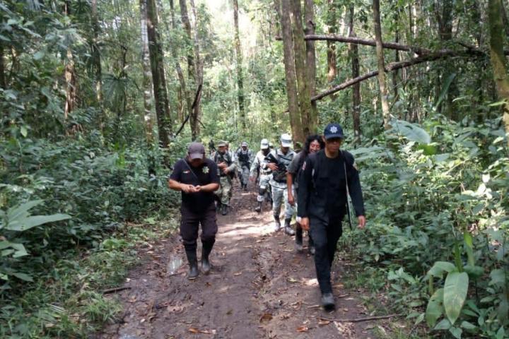 Encabeza SSyPC operativo preventivo en Área de Protección de Flora y Fauna de Nahá y Metzabok