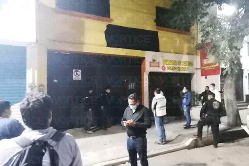 Clausuran bar en donde estuvieron jóvenes accidentados en El Trébol