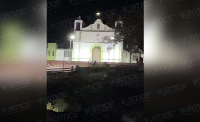 Balacera en San Cristóbal dura más de media hora y la Policía ni sus luces