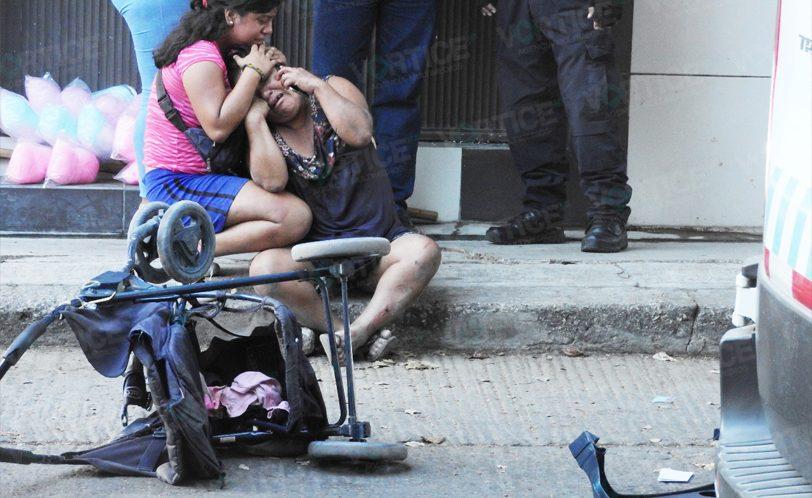 Muere niña tras ser aplastado por una camioneta en Tuxtla
