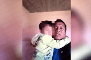 Niño de cuatro años es encarcelado junto a su padre en Altamirano